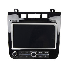 Wholesale Vw Mobile Phone - 2016 new Andriod 5.1 Car DVD player for VW TOUAREG with Steering Wheel Control,Dua Zone, Radio