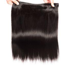 Sınıf 6A - Düz dalga saç dokuma 50 g / paket 4 demetleri,% 100 remy insan saçı doğal renk, ücretsiz tanglefree dökülme cheap grade 6a human hair weave nereden derece 6a insan saçı örgü tedarikçiler