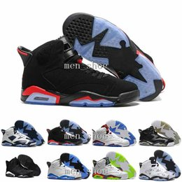 Wholesale Split Jump - 2017 New Mens Air Jump men Retro 6 XI Basketball Shoes Men Women Low Athletic Sport Shoes Retros 6s Infrared Retro Sneakers Red Size41-47