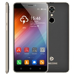 Wholesale S3 Android Dual Sim - 5pcs DHL KINGZONE S3 3G Smartphone 5.0 Inch Android 6.0 Quad Core 1GB RAM 16GB ROM Dual Sim 2600mAh Battery Fingerprint
