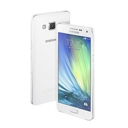 Wholesale 13 Quad Android - Unlocked Samsung Galaxy A5 A5000 A500F Original refurbished Cell Phones 5.0 Inch Quad Core 13 MP Camera 2gb+16gb unlocked with sealed box