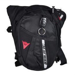 Wholesale Drop Legs Waist Bag - Factory wholesale!!! Black Drop Leg bag Motorcycle Knight waist outdoor package Multifunctional bag 3 logos