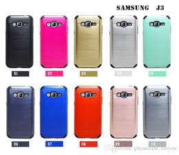 Wholesale Case Hard Grand - 100 pcs lot Slim Armor Case For SAMSUNG GALAXY A5 A3 A7 G530 GRAND PRIME ON5 G360 I9082 hybrid case TPU + PC Back Silicone Hard Cover Case