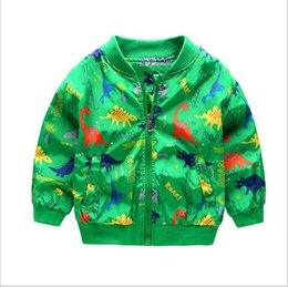 Wholesale Wholesale Ski Coats - Boy's collar coat ski-wear, the new children in the spring and autumn period and the children's wear children's printing baby leisure trench