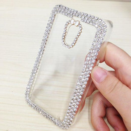 Wholesale Cheap Rhinestones For Cell Phones - Slim Clear Phone Cases With Crystal Decoration Best Protective Cases For Nokia Lumia 620 Cheap Cell Phone Accessories P-128