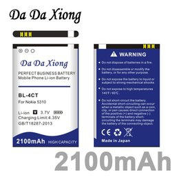 Wholesale Bl 4ct - Da Da Xiong 2100mAh BL-4CT BL4CT Li-ion Phone Battery for Nokia 5310 5630XM 7212C 7210C 6600F