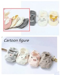 Wholesale Boys Slipper Socks New - 4pairs   Lot New High Quality Spring And Summer Children Invisible Cute Shallow Mouth Student Boat Socks Baby Slippery Socks Girls Socks Boy