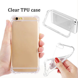 Wholesale Wholesale Clear Iphone Cases Cheap - Cheap ultra thin clear tpu case transparency soft tpu silicone cover smart phone protector for IP 6 7 plus SAM s7 s8 s8 plus note 8