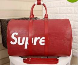 Wholesale Velvet Fabric Flowers - Women Total Bags M41418 Red Black Hight Quality Women Shoulder Bags Crossbody Shoulder Bag Handbag 41418 45.0 x 27.0 x 20.0 cm