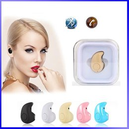 Wholesale Wireless Mini Headphones For Mobile - Mini Earphoens S530 Stereo Bluetooth 4.0 Headphones Wireless Headset Sports Earphone With Mic for Mobile Phone iPhone 5s 6 6s 7