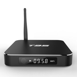 Wholesale Uk Cases - T95 S905X Android TV Boxes fully loaded update metal case 1GB 8GB WIFI Bluetooth4.0 T95 Streaming TV Box OTH207
