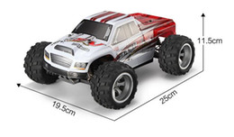 Wholesale Wltoys Rc Buggy - Wholesale- 70KM H, Wltoys A959 Truck New Arrival 1:18 4WD RC Car DKRC A979-B 2.4G Radio Control High Speed Truck RC Buggy Off-Road VS