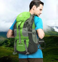 Wholesale Mountaineering Rucksack - FREEKNIGHT 50L Outdoor Backpack Camping Bag WaterProof Mountaineering Hiking Backpacks Molle Sport Bag Climbing Rucksack