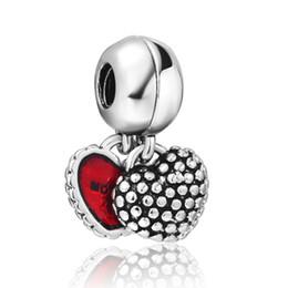 925 Sterling Silver Charms Monther Daughter Pendentif Européenne Perles Pour Serpent Chaîne Bracelet Fabrication De Bijoux Originale ? partir de fabricateur