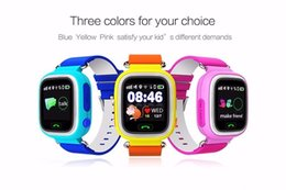 Wholesale Monitor Positioning - kids smart watch GPS Q90 Touch Screen WIFI Positioning Smart Watch SOS Call Location Finder Device Tracker Kid Safe Anti Lost Monitor