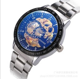 Wholesale White Dial Watch Titanium - Men Blue Ray Automatic Silver Wristwatch Luxury Black White Sports Dial Fashion Casual Dress Daily Water Resistant Stainless Brand Watches