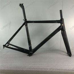 Wholesale Carbon Bike Frame Chinese - Free shipping 3K Weave HQR01 Frame +fork +seat post + headset + BB68 or BB30 Size 460MM-560MM Chinese carbon frame