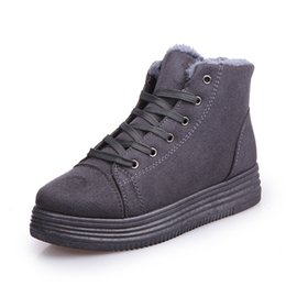 Wholesale Denim Boots For Women - Women warming Boots for girls suede street winter Feather casual shoes durable Women winter boots zapatos shoes Mujer. XDX-056