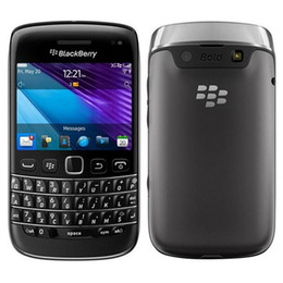 Бесплатный wi-fi мобильный онлайн-Восстановленное в Исходном Blackberry Bold 9790 разблокированный 3 Г Мобильный Телефон 2.45 дюймов 8 ГБ ROM 5MP Камера WI-FI GPS Сенсорный Экран + QWERTY Free Post 1 шт.