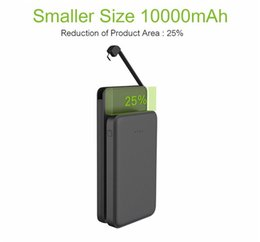 Wholesale External Battery 2a - A-16 Power Bank 10000mAh Capacity Protable External Battery Dual USB Polymer Power Banks Output 2A Suitable For Samsang HUAWEI Mobile Phones