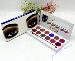 Wholesale Cosmetic Glitter Wholesale - HOT NEW Kylie Cosmetics The Royal Peach Kyshadow Palette Preorder 12 color eyeshadow DHL Free shipping+GIFT