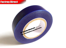 Wholesale Adhesive Protective Film - Wholesale- 2016 30mm* 200M*0.05mm Aluminum alloy Appliance, Watch Surface Protective Film Tape, Blue, Single Adhesive