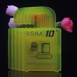 Wholesale Sim Unlock Adapter Card - R SIM10+ RSIM General Nano Cloud Unlock Card For iPhone 6S 6 5 5S 5C 4S IOS9.X&8.X&7.X