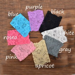 Wholesale Lace Trimmed Boot Socks Wholesale - Wholesale- 8 pairs Lot Stretch Lace Flower Leg Warmers Trim Toppers Boot Socks Cuffs Fashion
