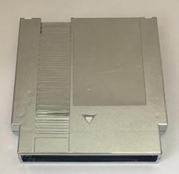 Argentina Shell plástico de color plata Placas de metal de 72 pernos del juego en cartucho de reemplazo para la consola de NES Suministro