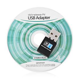 Wholesale Adaptador Wifi - Mini USB Wifi Adapter 300Mbps Wireless Network LAN Card 2.4G External Wifi Receiver Adaptador Wifi 802.11b g n For PC Laptop