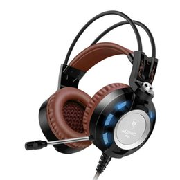 Wholesale Over Ear Headsets Mic - Sound Intone K6 Over Ear Wired Gaming Headset with Mic, Audiophile Level Stereo Headphones with USB 2.0 (Power LED Lights only)