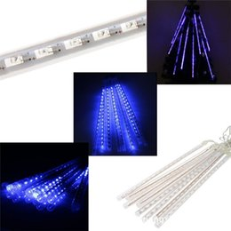 Wholesale Waterproof Led Lights For Showers - 30cm waterproof Meteor Shower Rain Tubes LED Lighting for Party Wedding Decoration Christmas Holiday LED Meteor Light
