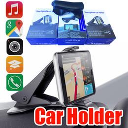 iphone 5s autoaufladeeinheithalter Rabatt Universal Car Mount Holder Simulieren Design Autotelefonhalter Cradle Einstellbare Armaturenbrett Telefonhalterung für sicheres Fahren für Handy