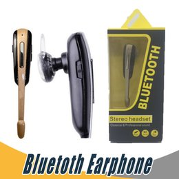 Wholesale Business Blackberry - Universal HM1000 Business Bluetooth Stereo Headset Headphone For iPhone 6 6s Plus Samsung S7 Edge with Retail Package