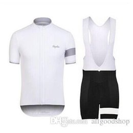 Wholesale Gold Lycra Suit - 2016 Rapha Cycling Jerseys Sets Cool Bike Suit Bike Jersey Breathable Cycling Short Sleeves Shirt Bib Shorts Mens Cycling Clothing