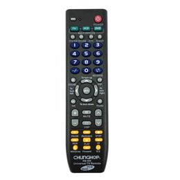 Wholesale Wholesale Used Tv - Wholesale- Top Deals CHUNGHOP Universal Remote Control 1PCS RM-88E TV VCD DVD 3 in 1 USE FOR SONY SAMSUNG TOSHIBA PANASONIC SANYO SHARP L