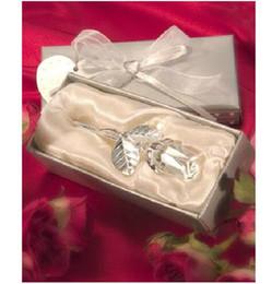 il migliore amore è aumentato Sconti Amore cristallo rosa ornamenti di nozze argento e oro baby shower regalo amanti del partito migliori decorazioni DT12