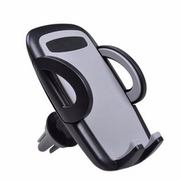 Wholesale Iphone 5s Car Mount - Wholesale- car Mobile Cell Phone Car Holder Smartphone Auto Gps Accessory Mount Stand Air Vent Phone Holder for iPhone 5s 6s 7 Samsung