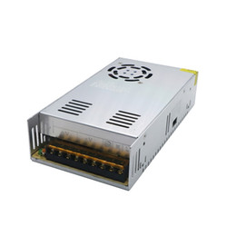 Wholesale power dc motor - Universal DC Power Supply 5v 70A 350W Switching Led Driver Transformer 110V 220V AC TO DC5V SMPS for Display Lamp CNC CCTV Motor