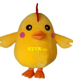 Wholesale Rooster Chicken Costume - Yellow Chicken Rooster Mascot Costume Hen Costume Free Shipping