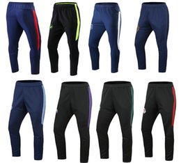 Wholesale Short Long Train - 17 18 Men soccer team Orlando long pants America outdoor soccer long trousers sports training football shorts soccer trousers football wear