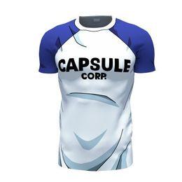 Wholesale Teen Wholesale Shirts - Wholesale- Newest Dragon Ball Z Resurrection F 3D t shirt Fashion Capsulf Corp Letters t shirts tees Teen Trunks T-Shirt DBZ tee shirts