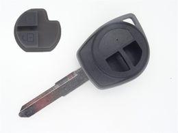Wholesale Remote Key Suzuki - Car Key Case Remote Key Shell fit for SUZUKI SX4 Swift UNCUT Shell Fob w  Button Pad 1Pc without logo
