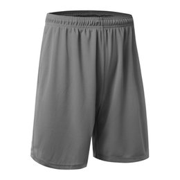 Wholesale Plus Size Workout Clothing - Wholesale- Brand Loose Household Quick-drying Casual Shorts Men Bodybuilding Fitness Short Men Clothing Workout Male Shorts