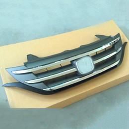 honda crv abs Скидка 1 шт. Для Honda CRV 2012-14 авто передний бампер ABS крышка сетки отделка решетка верхняя украсить