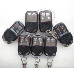 Wholesale Universal Car Remote Control - Universal Wireless Remote Control 433MHZ 433.92MHZ 433 for Car Gate Garage 4 Key Channel Duplicator Copy Cloning Code RF Learning Controlle