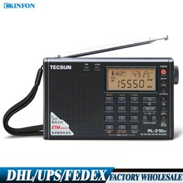 Wholesale Ats Radio - Wholesale-(Wholesale) 10PCS PL-310ET Radio World Band FM   AM   SW   LW Radio Receiver With ETM  ATS