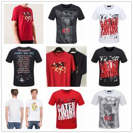 Wholesale Men Fashion Design Shirt - Original Italy Brand DSQ Men's Short Sleeve T-shirt Fashion Hipster Design Casual Tees High Quality Print D2 Tops O-Neck T-shirt DSQ2