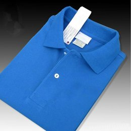 Wholesale Hot Mens Clothing Brands - Hot Sell New fashion mens polo shirt brand clothing casual cotton male Crocodile Embroidery polos breathable top quality polos shirts S-6XL