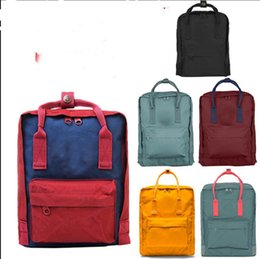 Wholesale Outdoor Waterproof Bags - Free Shipping 24 Colors Optional Waterproof Laptop Bag Classic Backpack Outdoor Sports Bag Real Photo Contact With Me